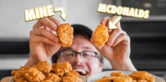 Chicken nuggets copied at home |  What's going on here anyway