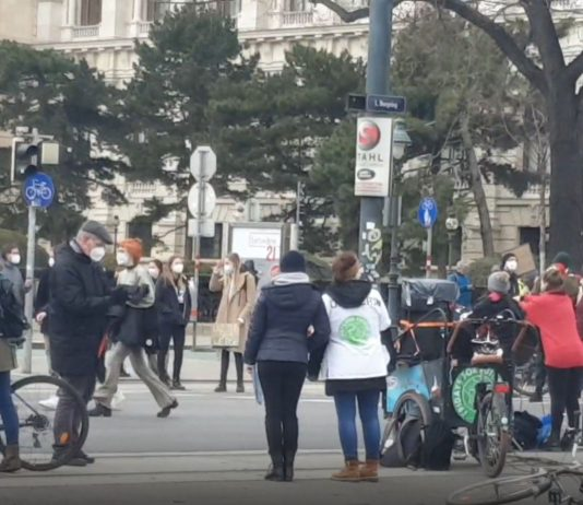FFF climate strike in Vienna: Thousands of super Covid spreaders are celebrated by the press!  (+ Videos)